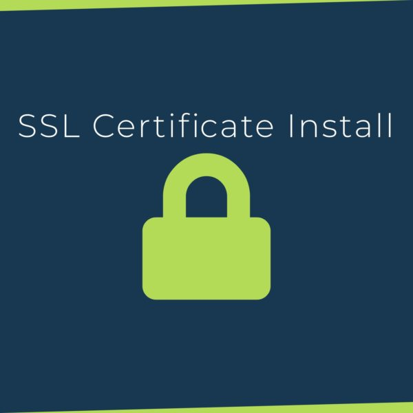 SSL Certificate Install and Configuration